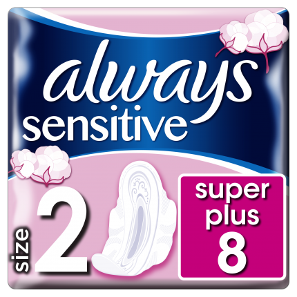 Always Σερβιέτες Sensitive Ultra Long Plus (8 τεμ)
