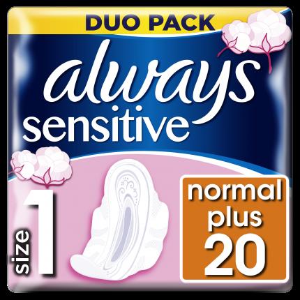 Always Σερβιέτες Sensitive Ultra Normal Plus (20 τεμ)