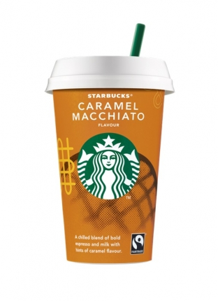 STARBUCKS ΡΟΦ. ΓΑΛΑ ΜΕ ΚΑΦΕ CARAMEL MACCHIATO 220ml NEW