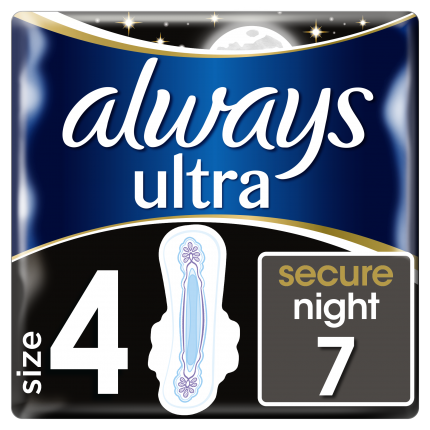 Always ONM Σερβιέτες Ultra Secure Night (7 τεμ)