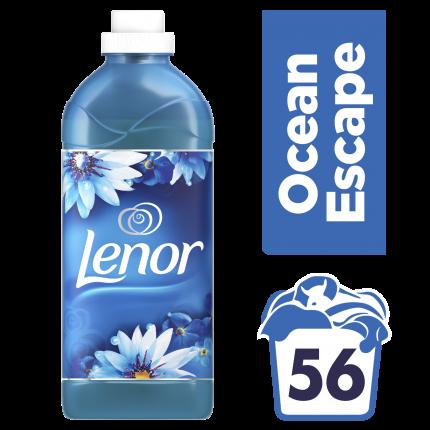 Lenor Μαλακτικό Ρούχων Ocean Escape 1.4L (56 μεζούρες)