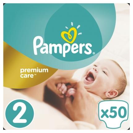 Pampers Premium Care Μέγεθος 2 ( 3-6kg), 50 Πάνες