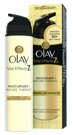 Olay Total Effects 7in1 Αντιγηραντική Κρέμα Mature Skin Therapy Moisturiser 50ml