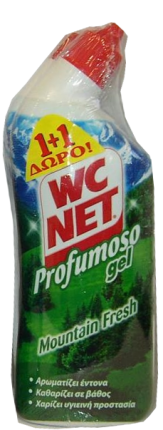 NET WC PROF MOUNTAIΝ FRESH 750ml 1+1 ΔΩΡΟ