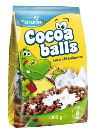 MR.BREAKF.ΔΗΜΗΤΡ.COCOA BALLS 10X1000 GR GLB