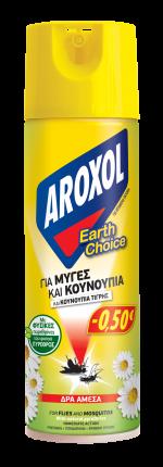 ΕΥΡΗΚΑ AROXOL ΕΝΤΟΜΟΚΤΟΝΟ ΠΥΡΕΘΡΙΝΗ 300ML