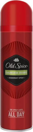 OLD SPICE DEO SPRAY DANGER ZONE 6X150ML