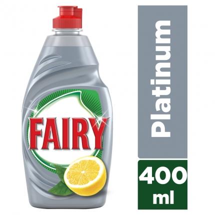 Fairy Platinum Λεμόνι υγρό πιάτων 400ml