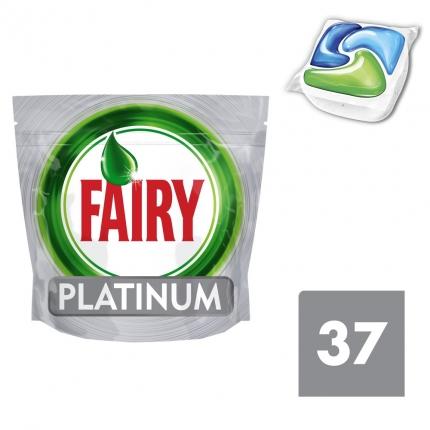 Fairy Platinum Original Ταμπλέτες Πλυντηρίου Πιάτων 37 ανά συσκευασία