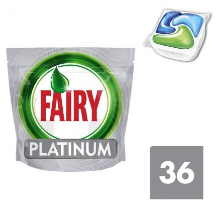 Fairy Platinum Original Ταμπλέτες Πλυντηρίου Πιάτων 36 ανά συσκευασία