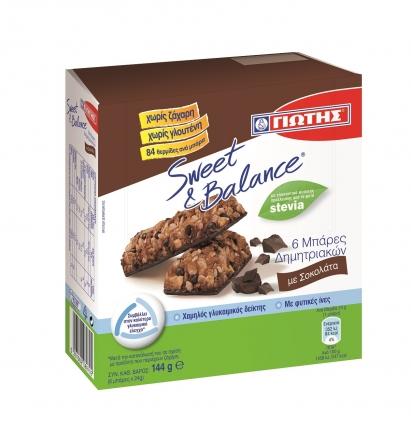 S&B Μπάρες Δημητριακών με σοκολάτα