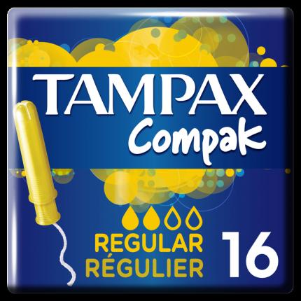 TAMPAX COMPAK REGULAR 6X16