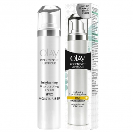 Olay Regenerist Luminous Brightening Moisturiser Cream  SPF20 50ml