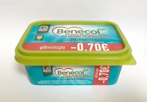 ΜΙΝΕΡΒΑ BENECOL ΕΛΑΙΟΛΑΔΟ 12x250GR -0,70€ (Ψ)