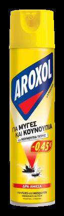 ΕΥΡΗΚΑ AROXOL ΕΝΤOMOKTOΝΟ 300ML