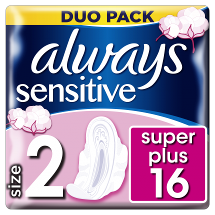 Always Σερβιέτες Sensitive Ultra Long Plus (16τεμ)