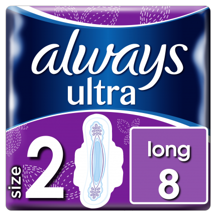 Always Ultra Long Plus 100% protection (8 τεμ)