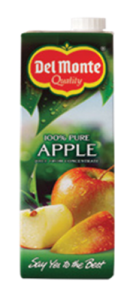 DEL MONTE JUICE APPLE 6X1LT