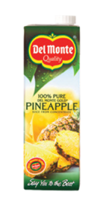 DEL MONTE JUICE PINEAPPLE 6X1LT
