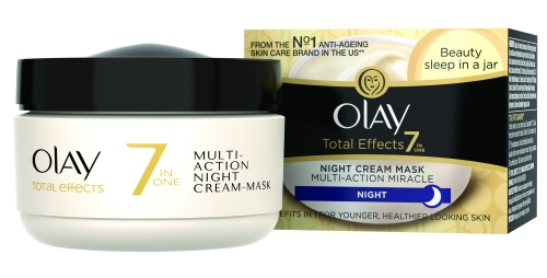 Olay Total Effects 7in1 Αντιγηραντική Κρέμα/Μάσκα Νύχτας SPF15 50ml