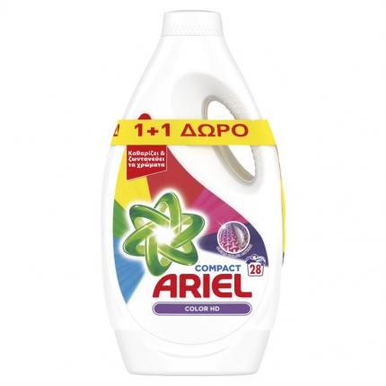ARIEL  ΥΓΡΟ COLOR 28MEZ (1+1Δ)