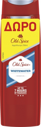 OLD SPICE WHITEWATER S/G 400ML+ΔΩΡΟ S/G 250ML