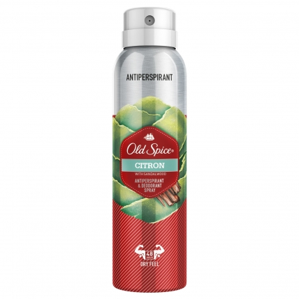 OLD SPICE ANTIPER SPRAY CITRON 6X150ML