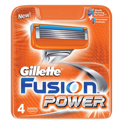 Gillette Fusion Power Aνταλλακτικά 4τεμ