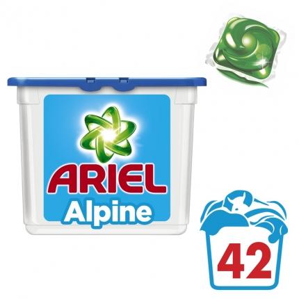 Υγρές Κάψουλες Ariel Alpine - 42 κάψουλες