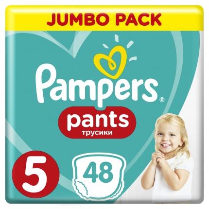 Pampers Pants Μέγεθος 5 (12-18kg), 48 Πάνες