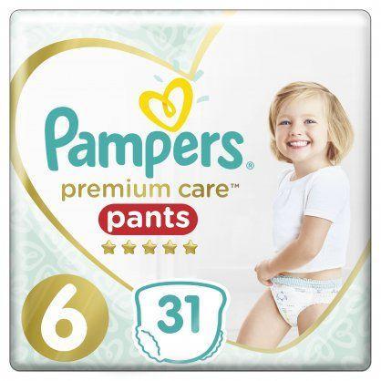 Pampers Premium Care Pants Μέγεθος 6 (15+ kg), 31 Πάνες