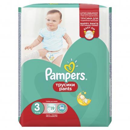 Pampers Pants Μέγεθος 3 (6-11kg), 19 Πάνες-βρακάκι