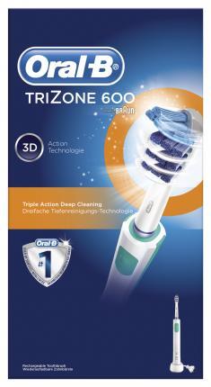 Επαναφορτιζόμενη Οδοντόβουρτσα Oral-B Trizone 600