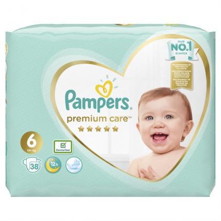 Pampers Premium Care Μέγεθος 6 (13+kg), 38 Πάνες