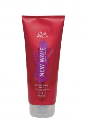 Wella New Wave Hair Gel Extra Strong Hold 200ml