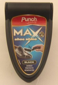 MAX 2 SHOE POLISHER BLACK (ΔΩΡΟ)