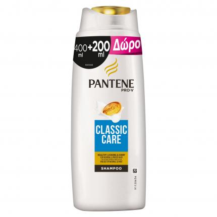 PANTENE ΣΑΜΠ CLASSIC 6Χ(400+200ML)