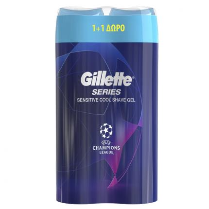 GILLETTE SERIES GEL SENSIT COOL 6X(200+200ML)
