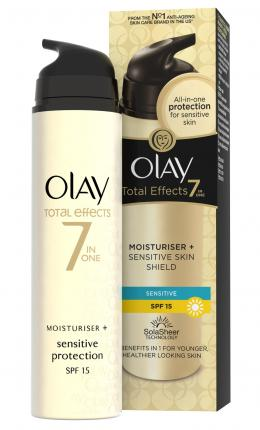 Olay Total Effects 7in1 Προστασία & Ενυδάτωση Ευαίσθητης Επιδερμίδας SPF15 50ml
