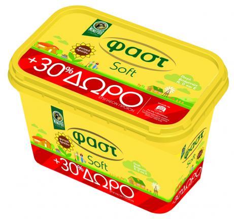 Μινέρβα Φαστ Soft 250gr + 30% δωρεάν προϊόν