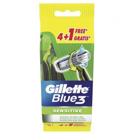 GILLETE BLUE 3 SENSIT 20x(4+1 Δ)