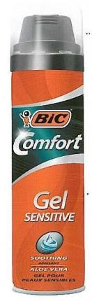 BIC GEL SENSITIVE 200ML