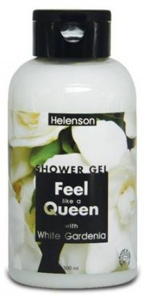 HELENSON SHOWER GEL FEEL LIKE A QUEEN (GARDENIA) 12x500ml
