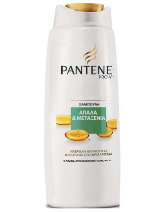 Pantene Pro-V Απαλά & Μεταξένια Σαμπουάν για ξηρά ή φριζαρισμένα μαλλιά 600ml
