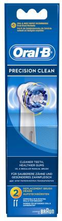 2 Ανταλλακτικές Κεφαλές Βουρτσίσματος Oral-B Precision Clean