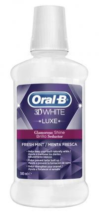 OB ΣΤΟM.ΔΙΑΛ.3D WHITE GLAM.SHINE 500ML