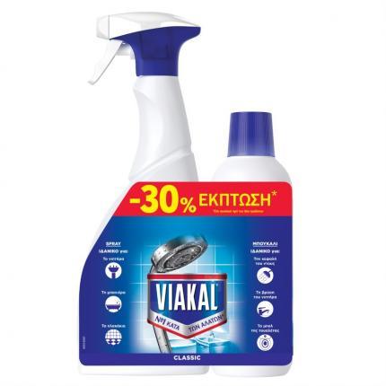 VIAKAL SPRAY 750ML+ΥΓΡΟ 500ML -30%