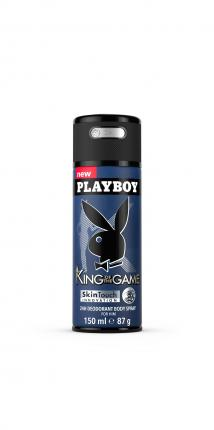 PLAYBOY KING MALE DEO BS 150ML