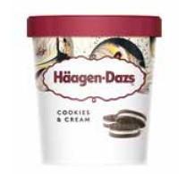 Haagen - Dazs Minicups Cookies & Cream 100ml