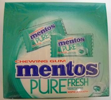MENTOS PURE FRESH WINTERGREEN MINI